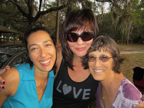 Shila, Michelle, and Cindy.  Aww.